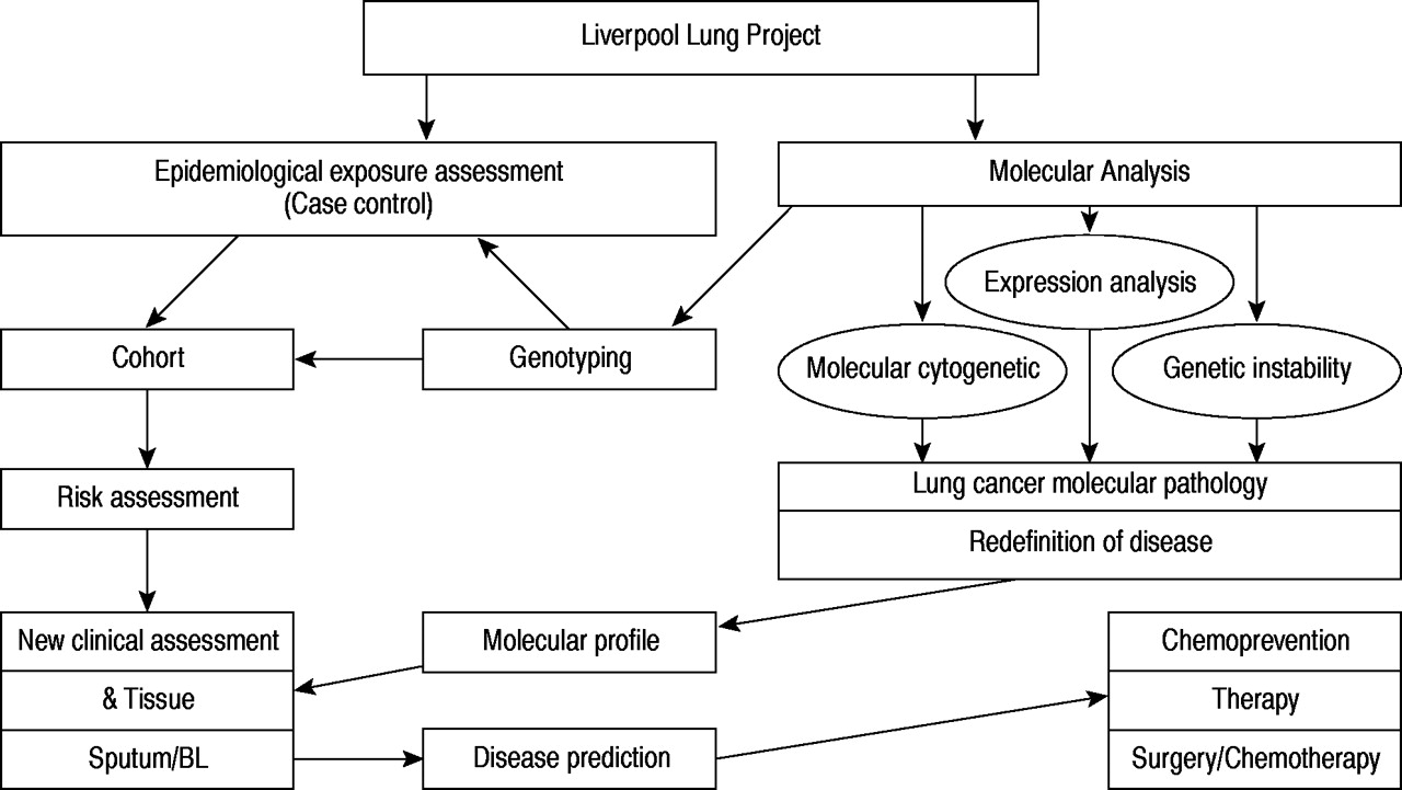 The liverpool lung project a molecular epidemiological study of download figure ccuart Image collections