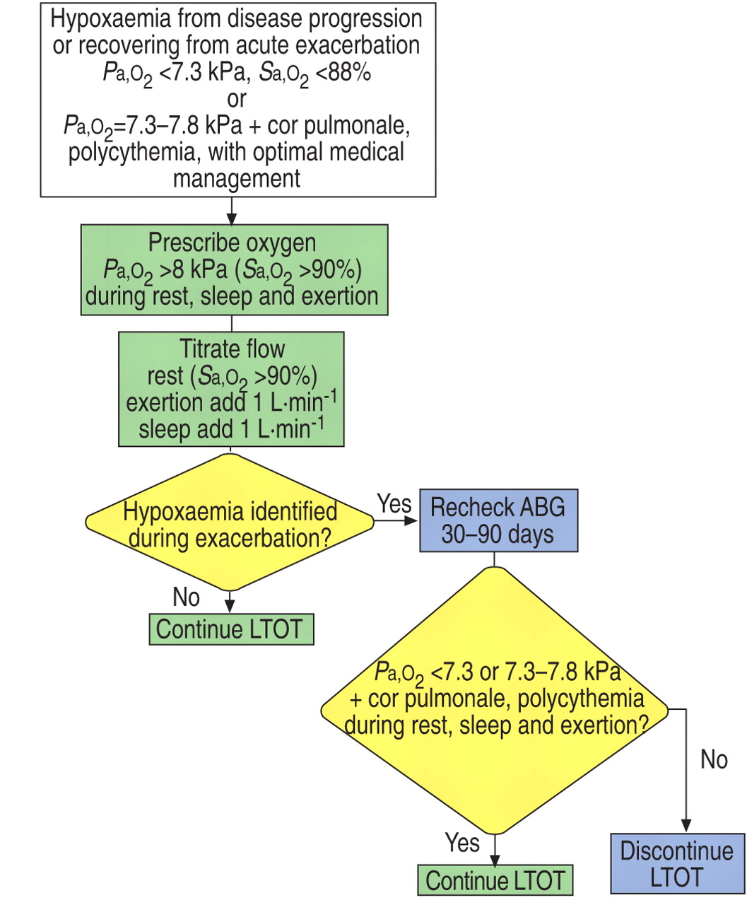 2018 Guidelines For Copd Management Flow Charts