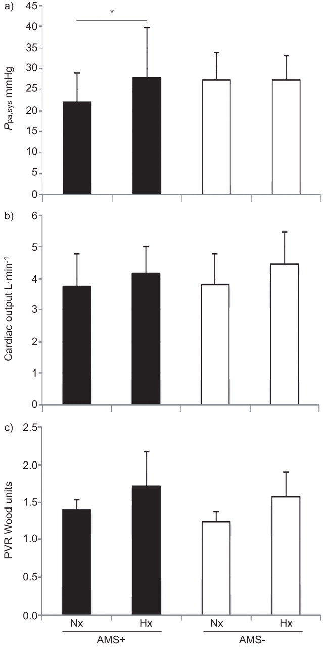 Altitude illness is related to low hypoxic chemoresponse and low