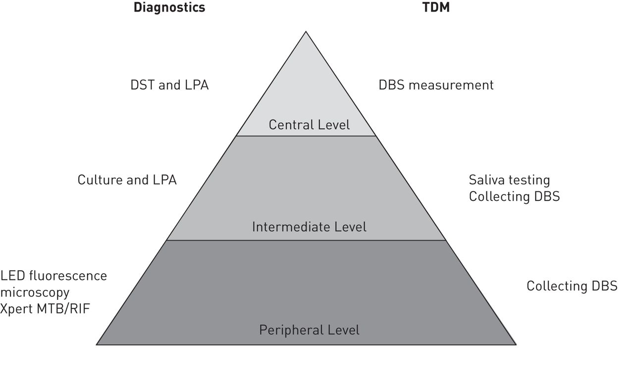 Incorporating therapeutic drug monitoring into the World