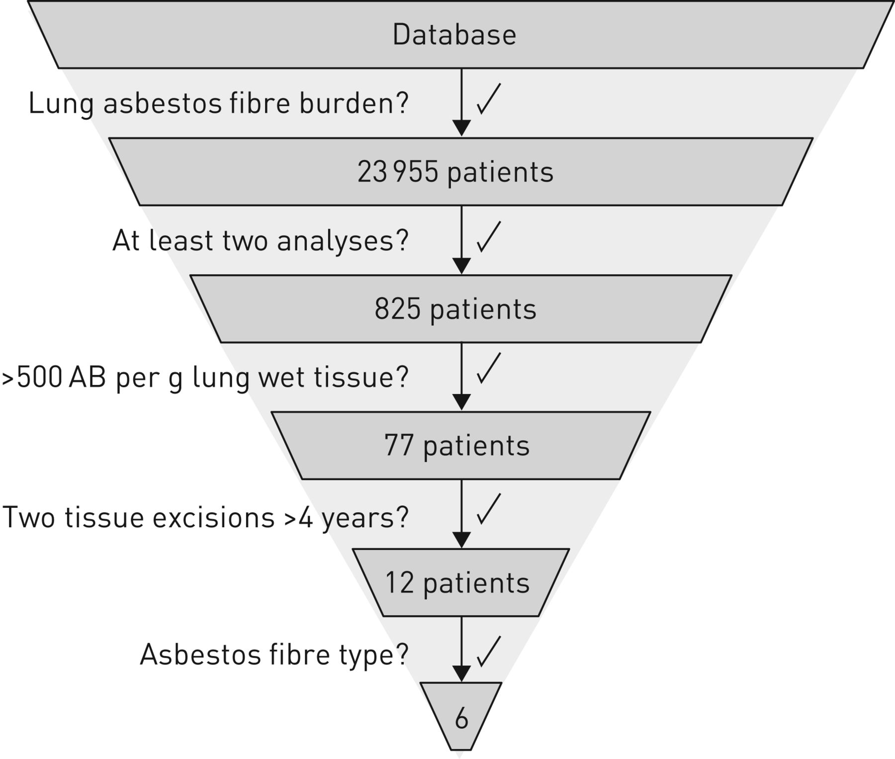 The asbestos fibre burden in human lungs: new insights into the ...