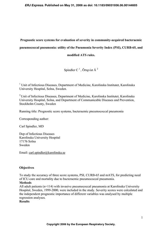 curb 65 score pneumonia pdf