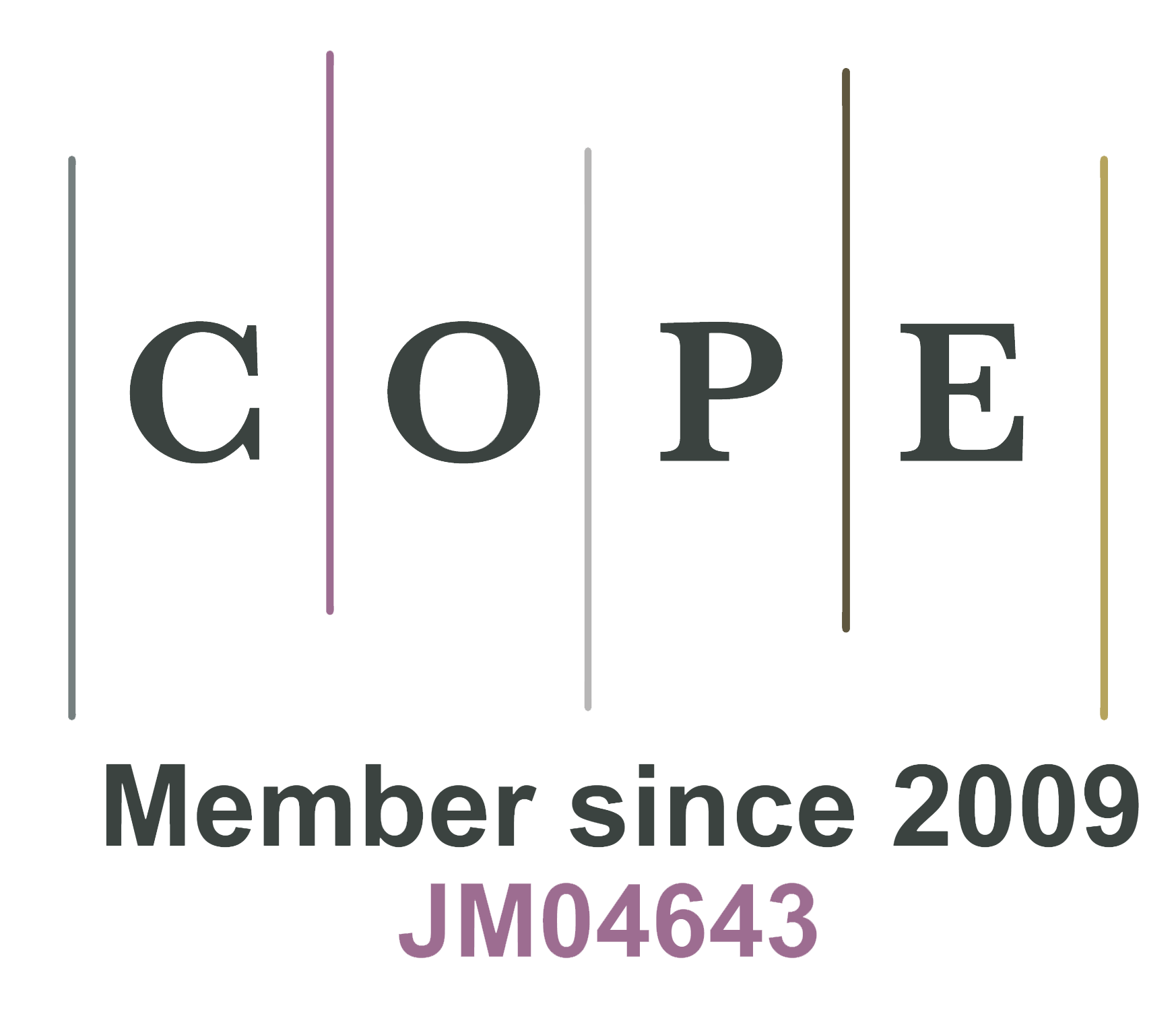 COPE Member since 2009 JM04643