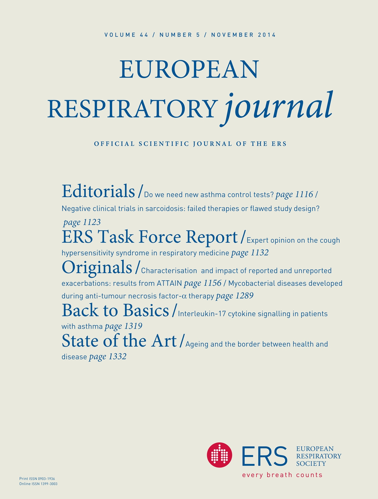 387f24404fc9b Ageing and the border between health and disease | European Respiratory  Society