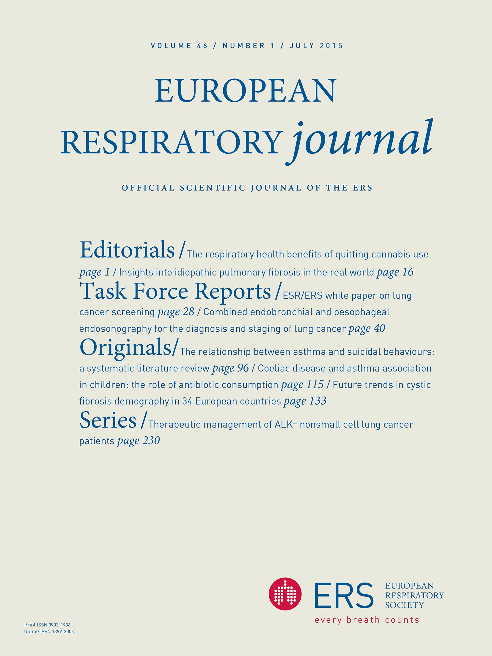 Statement On Smoking Cessation In Copd And Other Pulmonary Diseases