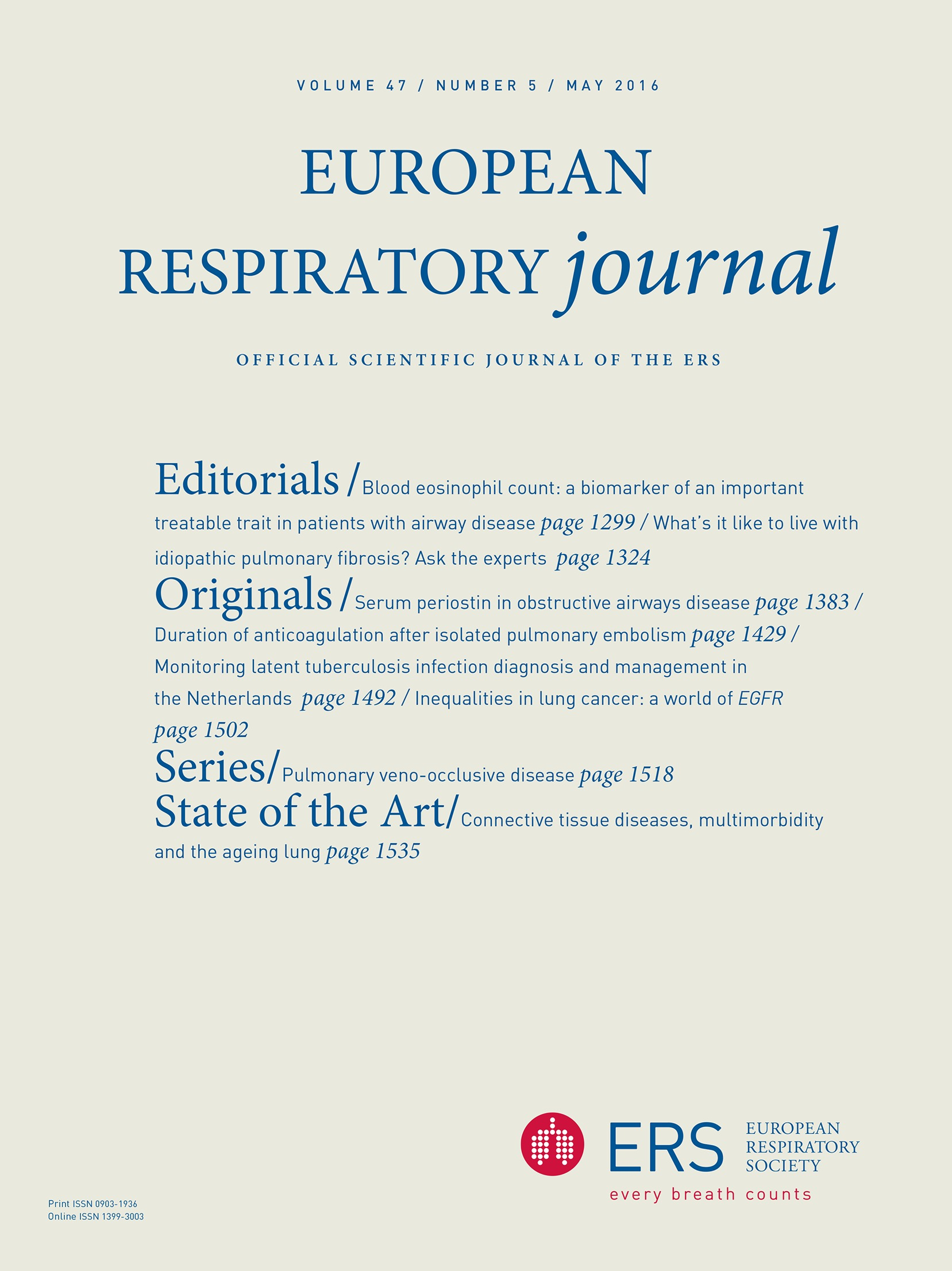 Inequalities in lung cancer: a world of EGFR | European Respiratory Society