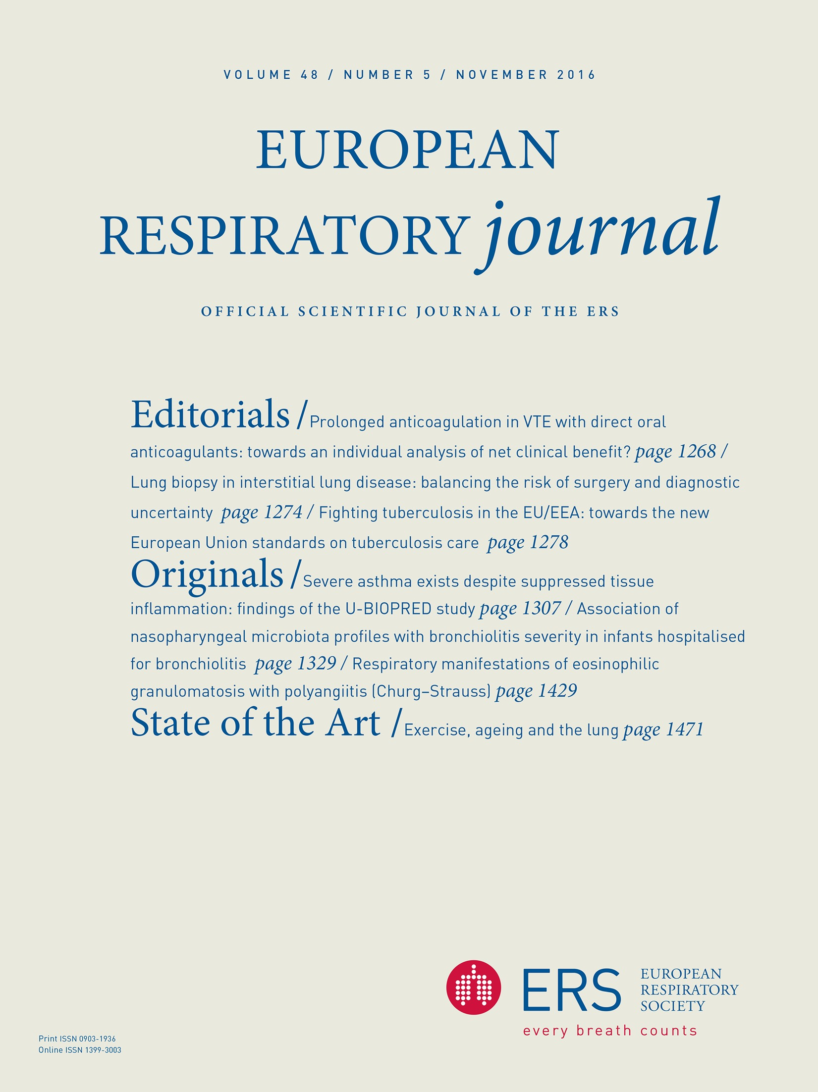Exercise Ageing And The Lung European Respiratory Society