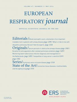 European Respiratory Journal: 47 (5)
