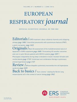 European Respiratory Journal: 47 (6)