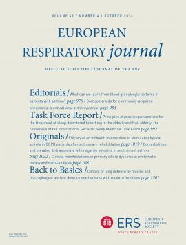 European Respiratory Journal: 48 (4)
