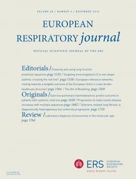 European Respiratory Journal: 48 (6)