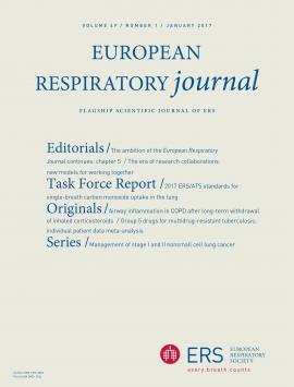 European Respiratory Journal: 49 (1)