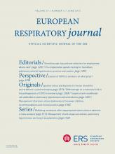 European Respiratory Journal: 39 (6)