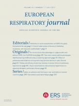 European Respiratory Journal: 40 (1)