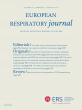 European Respiratory Journal: 40 (2)