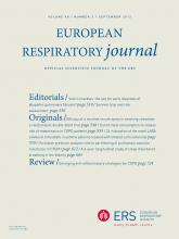 European Respiratory Journal: 40 (3)