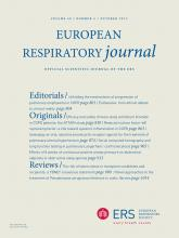 European Respiratory Journal: 40 (4)