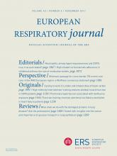 European Respiratory Journal: 40 (5)
