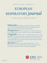 European Respiratory Journal: 40 (5)