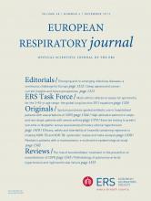 European Respiratory Journal: 40 (6)