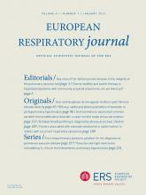 European Respiratory Journal: 41 (1)