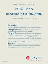 European Respiratory Journal: 41 (2)