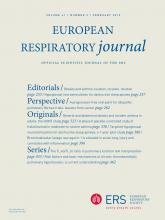 European Respiratory Journal: 41 (2)