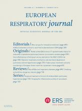 European Respiratory Journal: 41 (3)