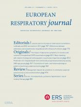 European Respiratory Journal: 41 (4)