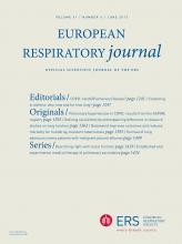 European Respiratory Journal: 41 (6)