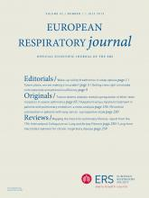 European Respiratory Journal: 42 (1)