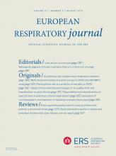 European Respiratory Journal: 42 (2)
