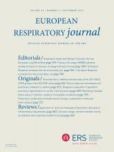 European Respiratory Journal: 42 (3)