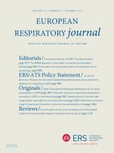 European Respiratory Journal: 42 (4)