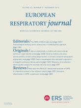European Respiratory Journal: 42 (5)