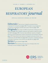 European Respiratory Journal: 42 (6)