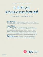 European Respiratory Journal: 43 (1)