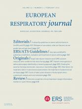 European Respiratory Journal: 43 (2)