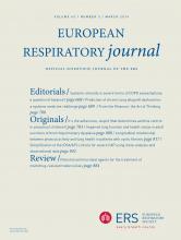 European Respiratory Journal: 43 (3)