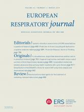 European Respiratory Journal: 43 (3)