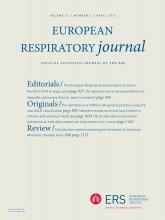 European Respiratory Journal: 43 (4)