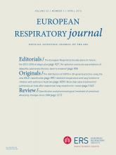 European Respiratory Journal: 43 (4)