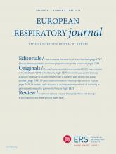European Respiratory Journal: 43 (5)