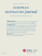 European Respiratory Journal: 43 (5)