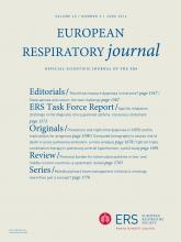 European Respiratory Journal: 43 (6)