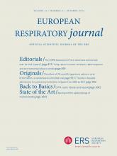 European Respiratory Journal: 44 (4)