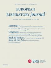 European Respiratory Journal: 44 (4)