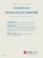 European Respiratory Journal: 45 (1)