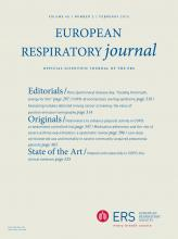 European Respiratory Journal: 45 (2)