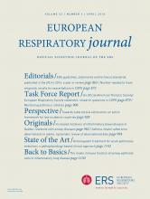 European Respiratory Journal: 45 (4)